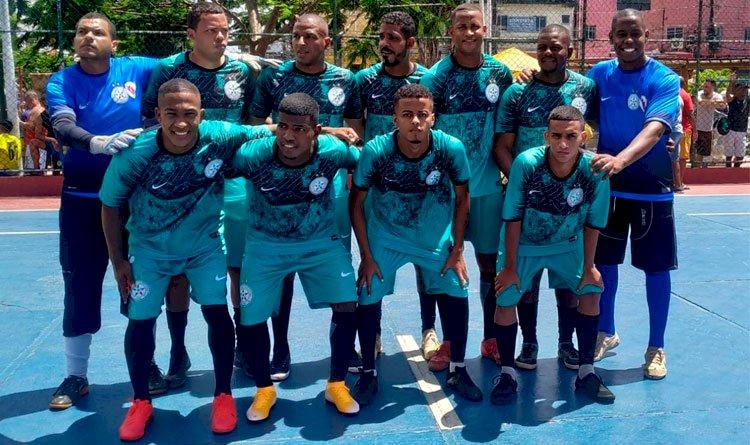 Santos Narandiba estreia com vitória na Liga Luís Gama de Futsal.