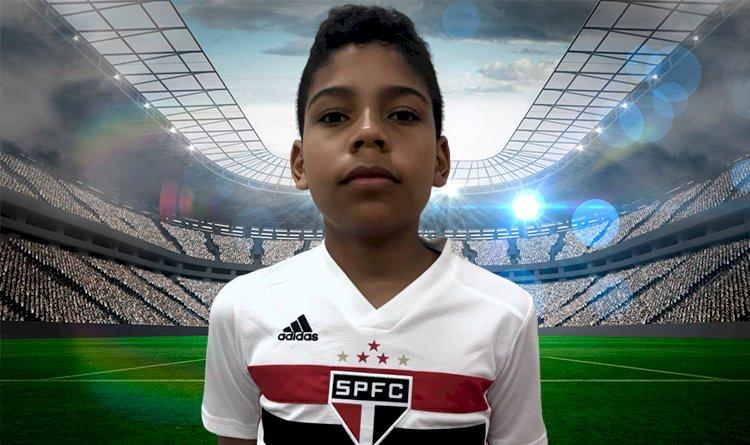 Conheça Edjan Junior jovem amador do futebol.
